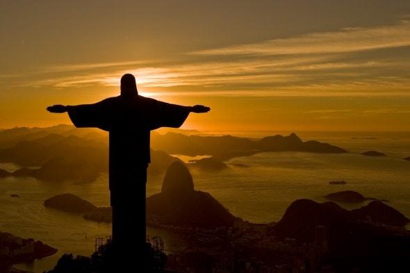 cristo redentor rio de janeiro brasil