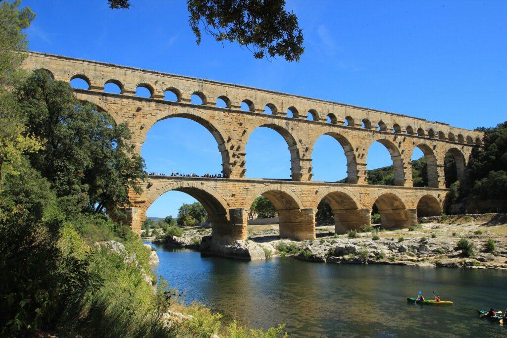Patrimônio Cultural da França: Ponte do Gard